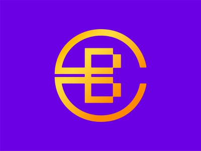 Joining the Bitcoin game :p logotype lettermark type design branding and identity typography abstract geometric custom type branding icon symbol monogram logo monogram logo design vector bitcoins coin logo logo bitcoin
