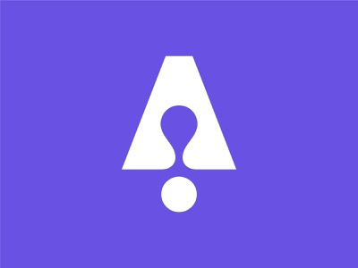 A for Adaptation type vector fluid geometric symbol icon data identity design data visualisation ai machine learning adaptability adaptation monogram logotype brand identity branding logo graphic design