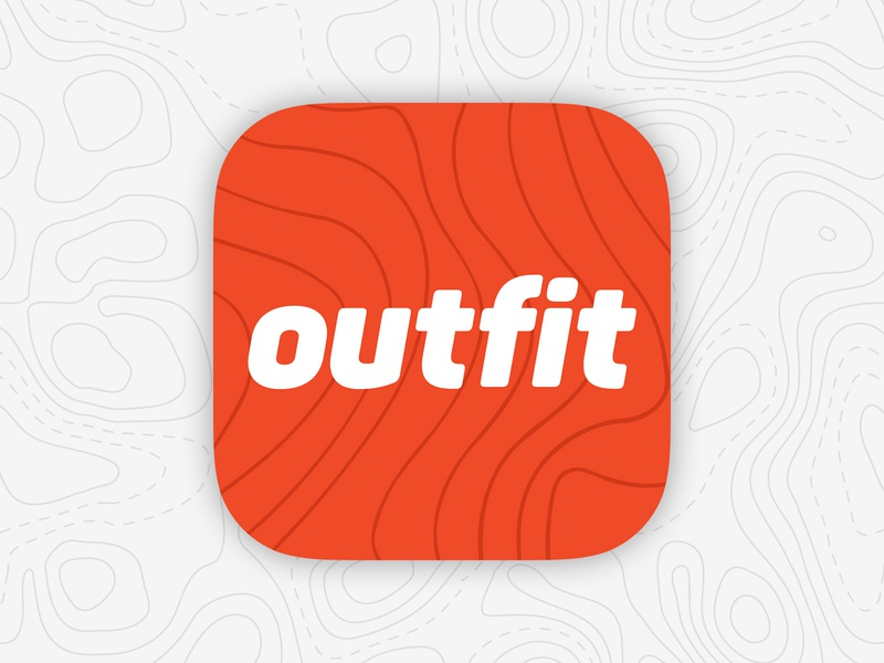 Outfit Outdoors App Icon app icon
