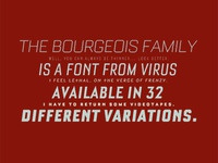Bourgeois MyFonts Banner 2