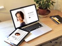 Aditi Nerurkar Website Design