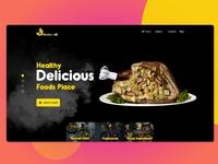 restaurants website concept