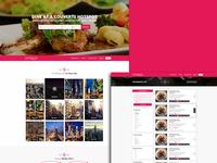 Website UI design: gooischerestaurants.nl