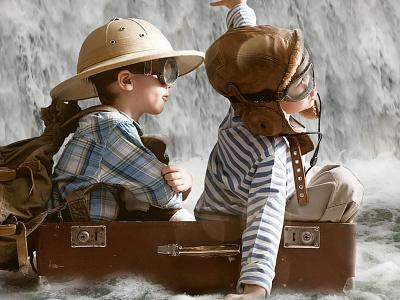 A Water Journey photomanipulation