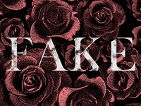 Fake Roses Wallpaper