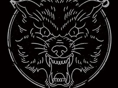 Wolf design texture fakexfake wolf