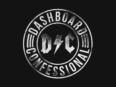 Badge - Dashboard Confessional shirt mexico design merch dashboard confessional confessional dashboard fakexfake