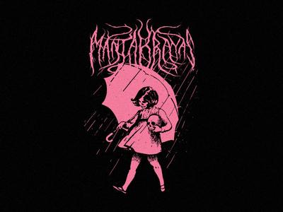 It´s raining men. shirt design shirt rock punk music mexico merch design merch mantarrayas design art apparel