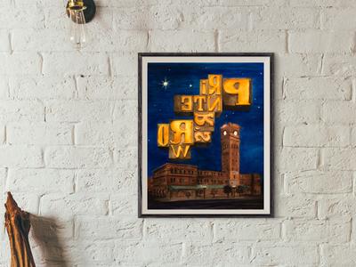 Printers Row Poster