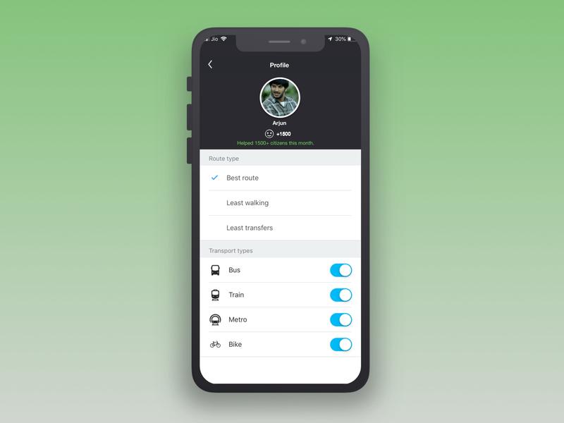 100 Days of UI #dailyui #007 app settings 100daysofui visual design userinterface