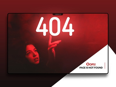 404 Page Error 404 error 404 design inspiration user interface ui design website design ui landing page
