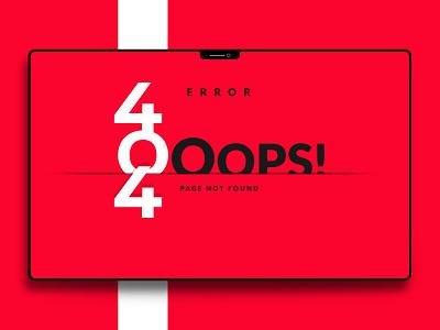 404 - Web Page Design background design landing cover user interface ui landing page web design page error 404 error page 404 error 404 page