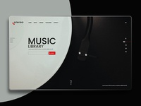 Landing page for Stereo- Music Library