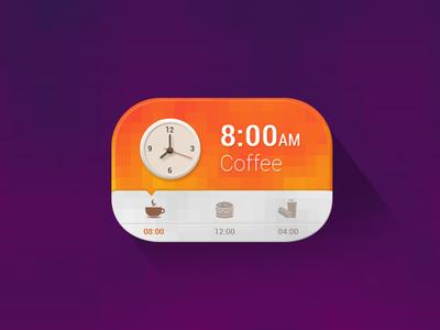 Daily Scheduler Clock