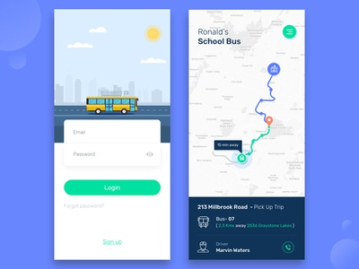 School Bus Tracking App