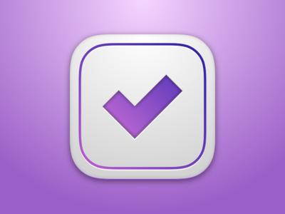 Daily UI 005 - App Icon (Omnifocus)