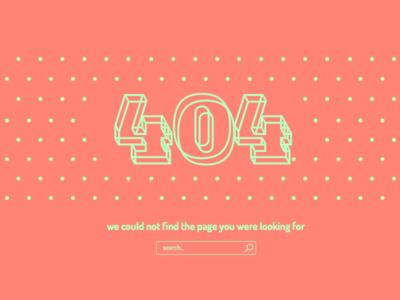 Daily UI 007 - 404