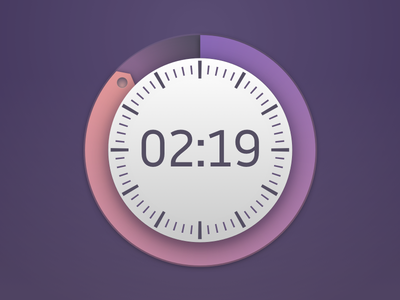 Daily UI 014 - Timer clock countdown timer 011 daily ui