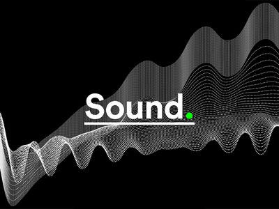 Colorpong.com - Sound Vector Bundle frequency line lines point points dots amplitude music waves wave sound