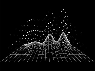 Colorpong.com - Dataism Vector Bundle data flow mesh net figure graph grid dot dots infographic info data