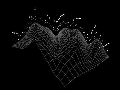 Colorpong.com - Dataism no.25 vector data flow mesh net figure graph grid dot dots infographic info data