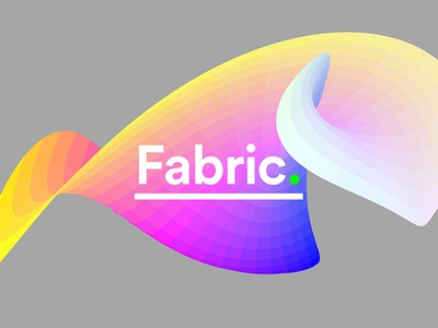 Colorpong.com - Fabric system curve material fabric particles gradient smooth vector colorful facettes panels panel