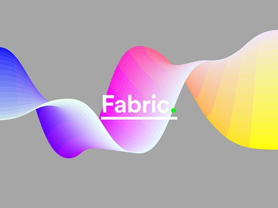 Colorpong.com - Fabric Vector Collection system curve material fabric particles gradient smooth vector colorful facettes panels panel