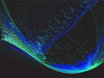 Cp030 Aurora 2 dots data visualization vector cosmos