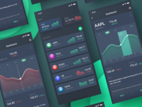 A Financial App UI