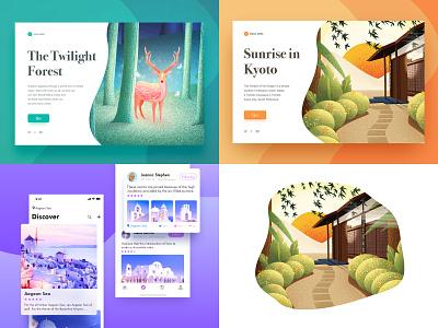 My top of 2018 ! app design ui illustration