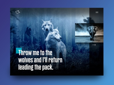 Throw Me To The Wolves motivational danger elephant night wild blue forest animal wolf wolves