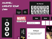Marvel: Create Your Own