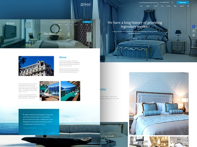Elegant - Hotel & Resort reservation hotel hostel holiday website booking book bed and breakfast apartment accommodation