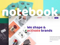 Notebook - Portfolio Showcase