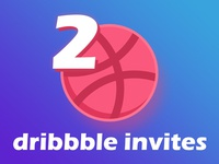 2 x Dribbble Invite Giveaways