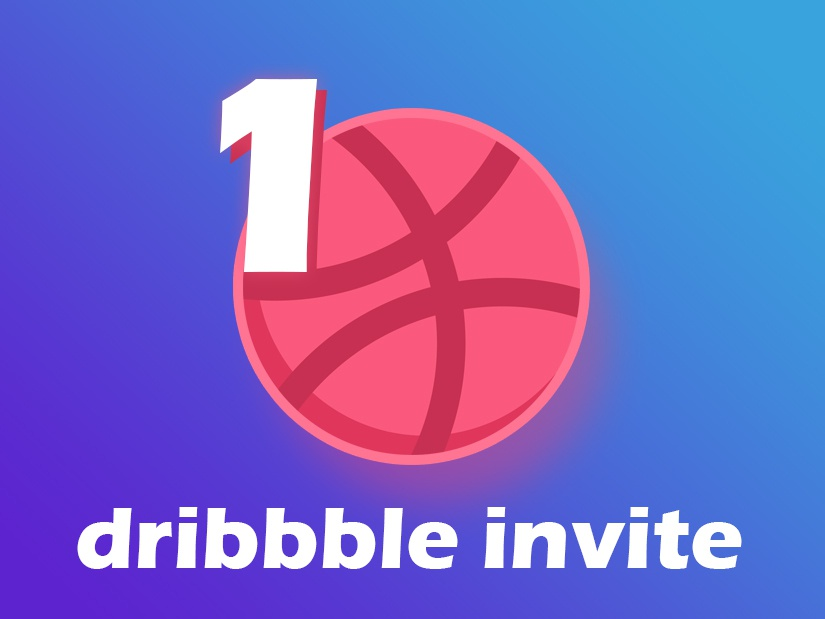 Dribbble Invite Giveaway webdesign vector ux ui prospect draft invitation free giveaway invite dribbble