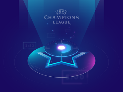 Illustration for Uefa Champions League jingle