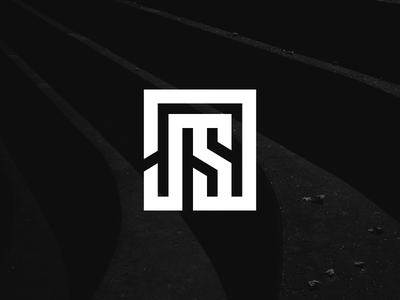 JS Fashion logo design branding typography monoline monoweight fashion logo
