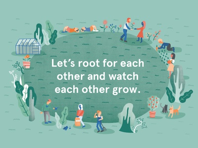 Let's Root for Each Other