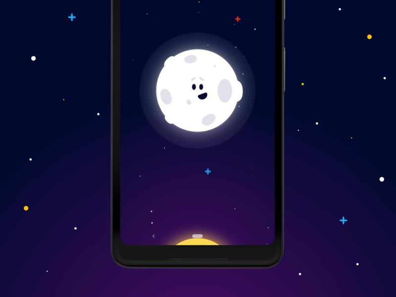 Wakey's Alarm Screen vector cute alarm clock android wakey