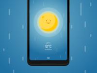Wakey's Weather Forecast - Rainy