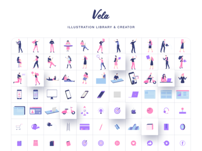 Vela Illustration Library II