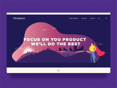 Home Stage for Clickspros