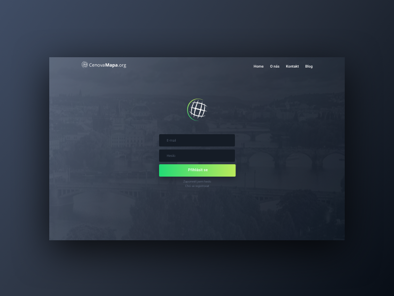 424c1edac Login area by Jakub Bobuski | Dribbble | Dribbble