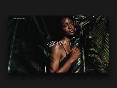 Photography portfolio concept