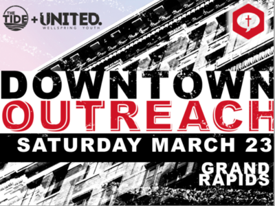 Downtown Outreach Graphic