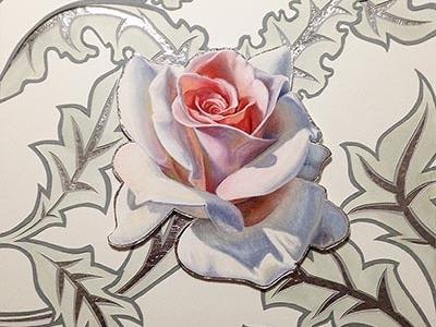 Rose by Nicole Grosjean on Dribbble