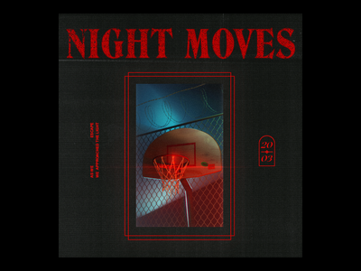 Night Moves c4d cinema4d basketball
