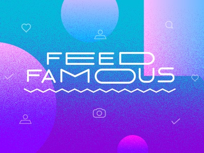 Feed Famous custom type feed famous title card