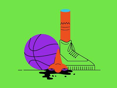 Nosebleed nosebleed basketball